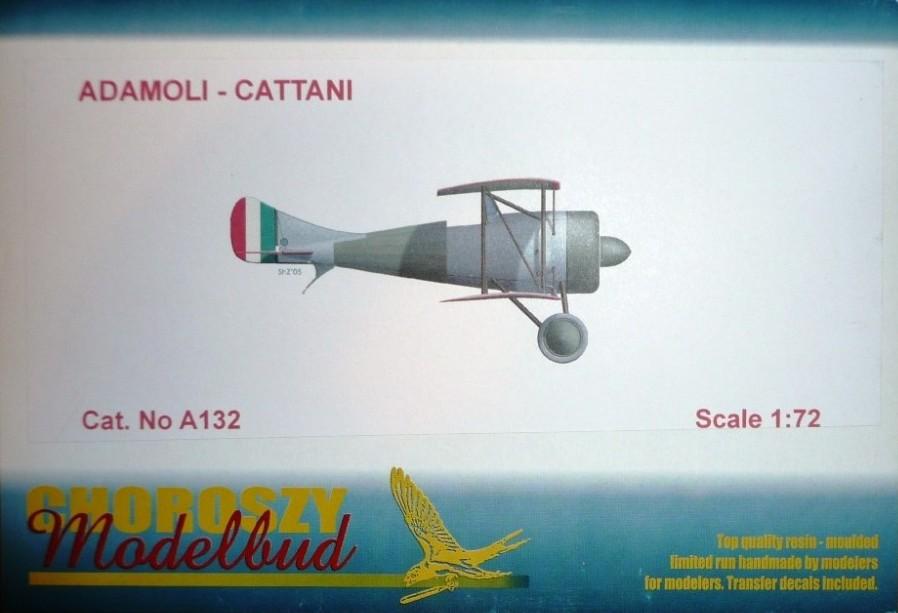 Modello Adamoli-Cattani - Choroszy Modelbud - 1:72