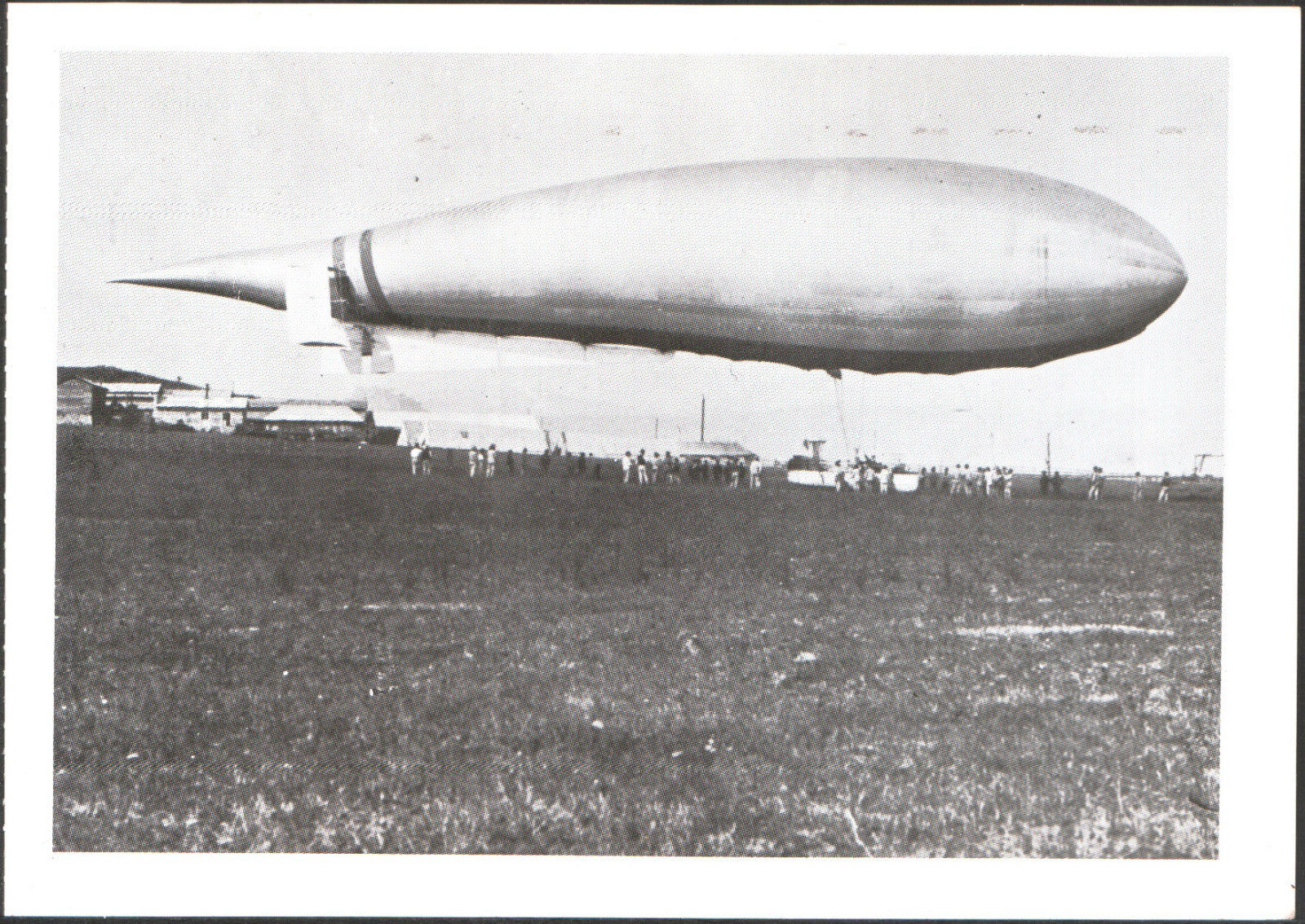 Dirigibile N. 1 bis Crocco-Ricaldoni - 1909