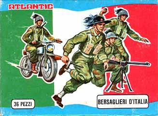 Modellismo - Bersaglieri d'Italia - Atlantic Scala HO - 1972