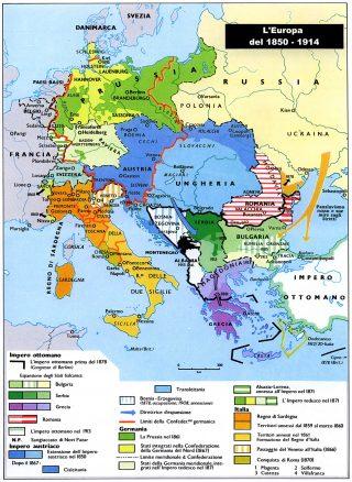 Grande Guerra degli Italiani Europa nel 1914