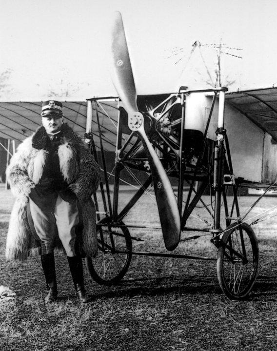 Blériot XI - Gaspare Bolla