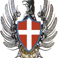 Emblema distintivo del Corpo Aeronautico Militare 1913-1915