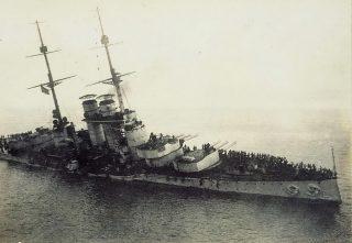 Corazzata Szent Istvan - 1918