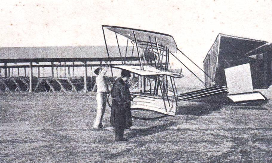 Triplano Faccioli - 1909