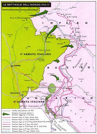 Le Battaglie dell'Isonzo - 1916