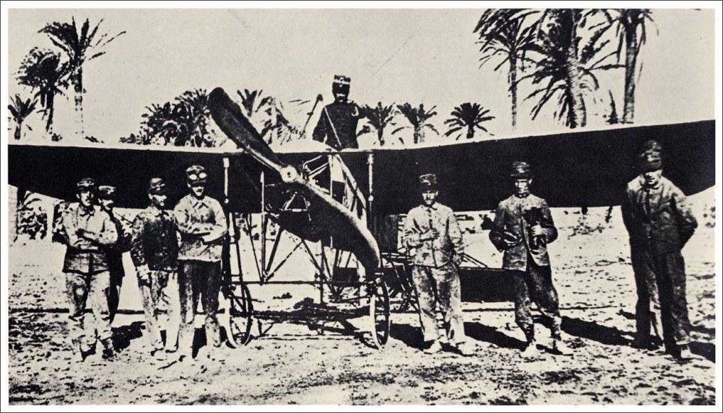 Blériot XI - Libia 1911