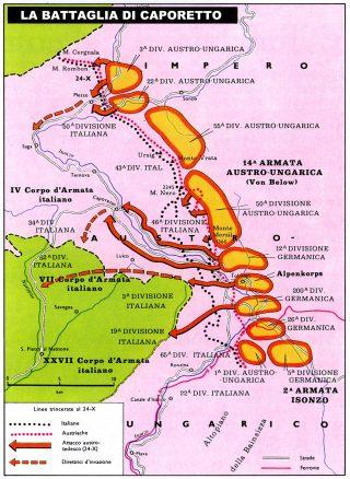 La Battaglia di Caporetto - 1917