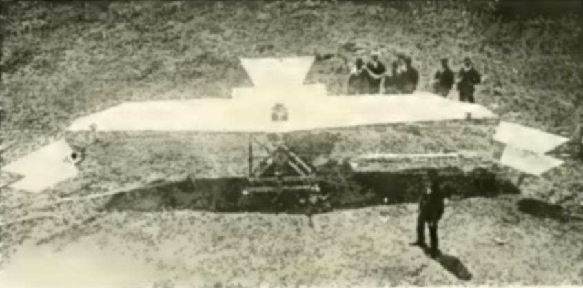 L'Aérogyroplane di Federico Capone - 1905