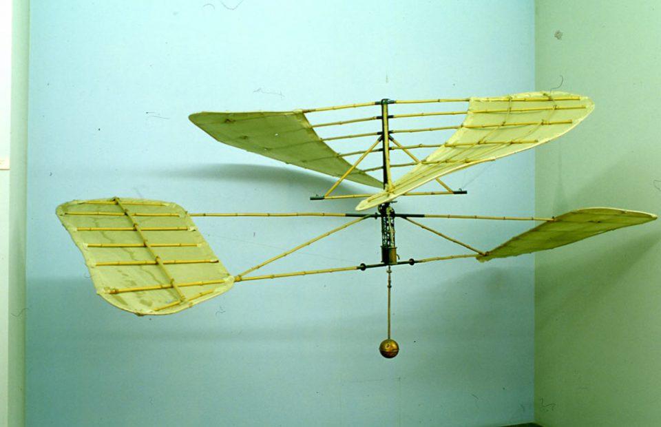 Elicottero sperimentale di Forlanini - 1877