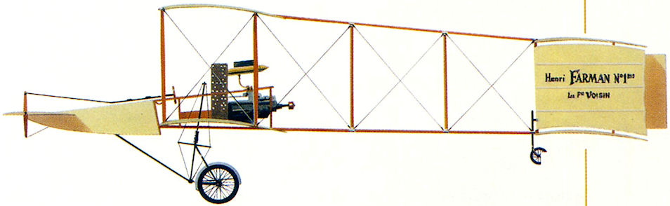 Voisin-Farman 1bis - 1908