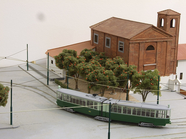 Plastico Tranviario ed esposizione modelli dell'associazione ATTS (Associazione Tram Storici Torino)