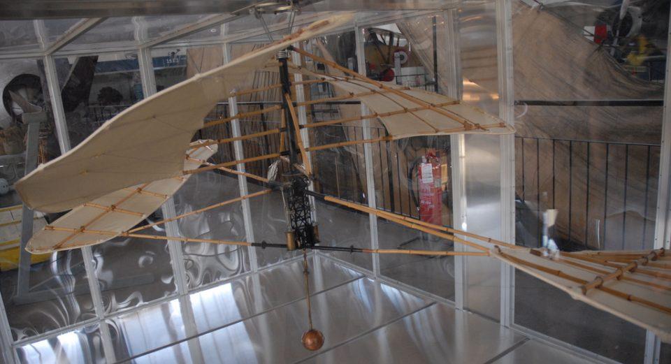 Elicottero sperimentale di Enrico Forlanini - Museo della Scienza e della Tecnologia - Milano