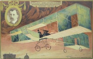 Manifesto Esperimenti di Aviazione Roma