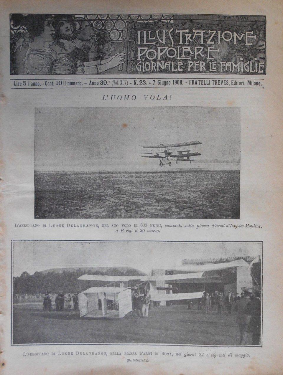 Illustrazione Popolare - Anno 39 - Vol XLV