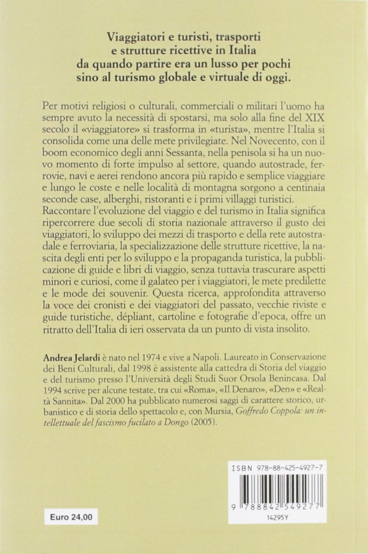 Andrea Jelardi - La storia del viaggio e del turismo in Italia