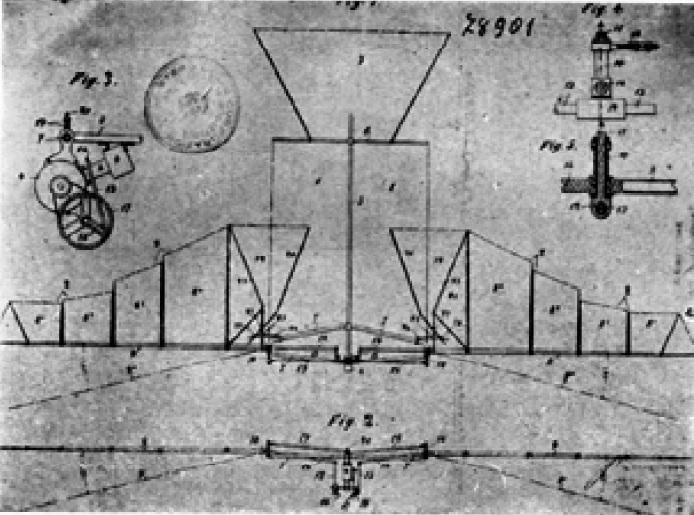 Aérogyroplane di Federico Capone - 1905