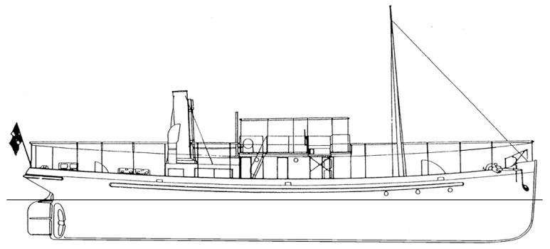 Cisterna Costiera Foce -1915