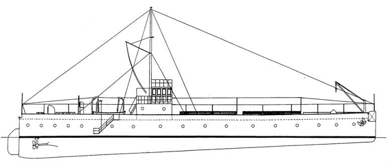 Cisterna Costiera Adige -1915