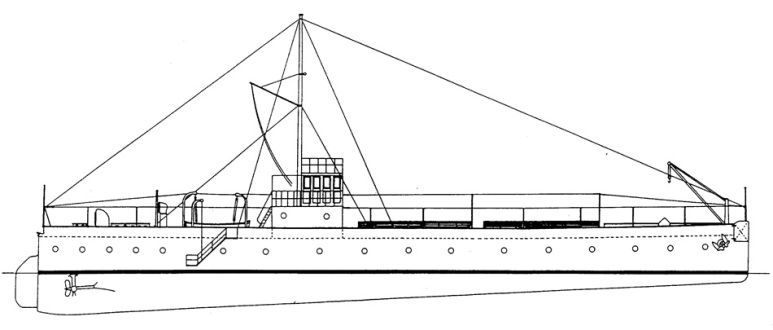 Nave Cisterna Costiera Bisagno -1915