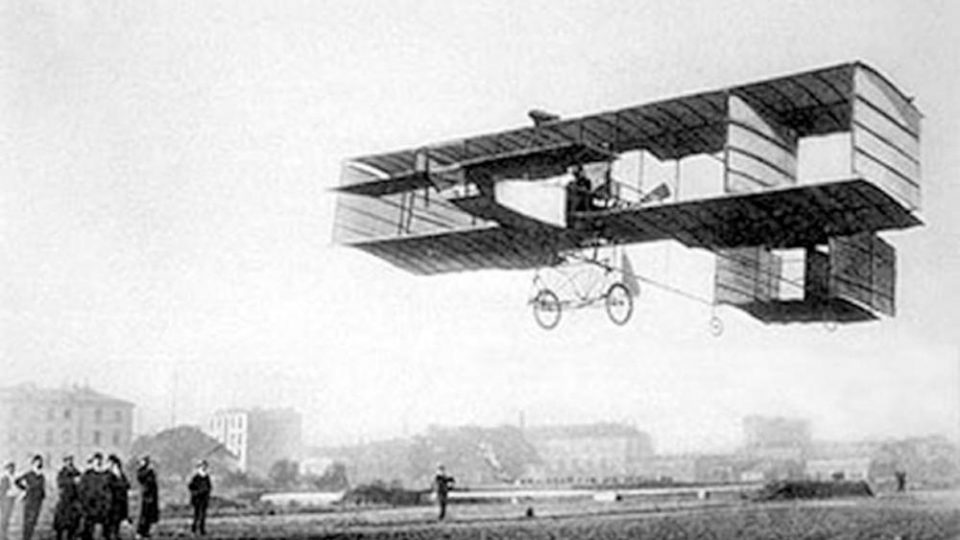 Aereo Delagrange Torino 1908