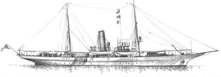 Cannoniera Archimede - 1915