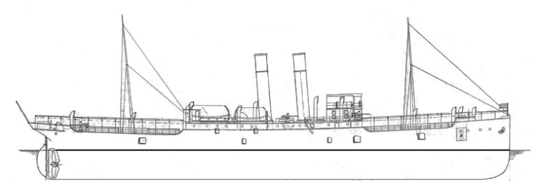 Nave Trasporto Bengasi - 1915
