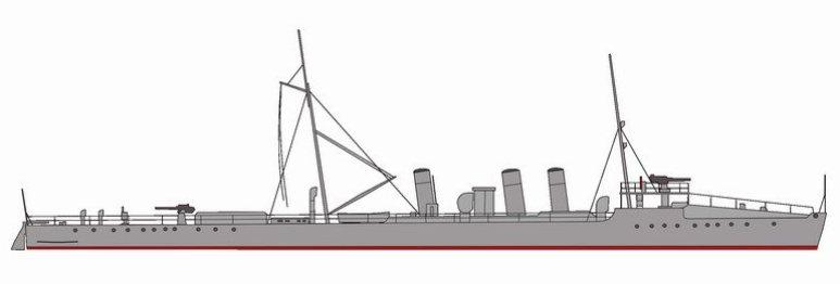 Cacciatorpediniere Fuciliere - 1915