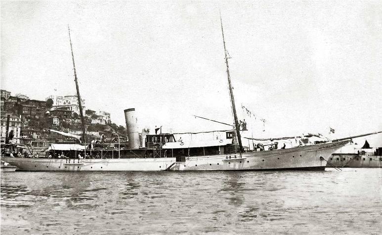 Cannoniera Capitano Verri - 1915