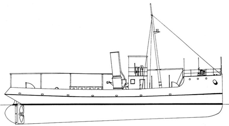 Rimorchiatore Costiero Capri - 1915