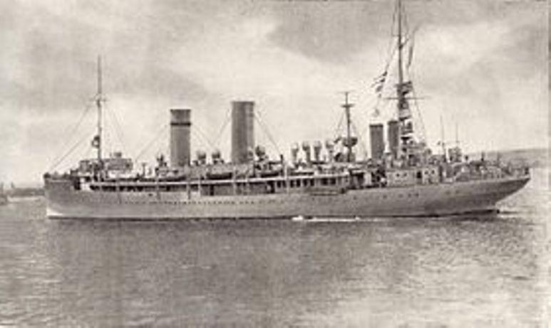 Incrociatore Ausiliario Città di Palermo - 1915