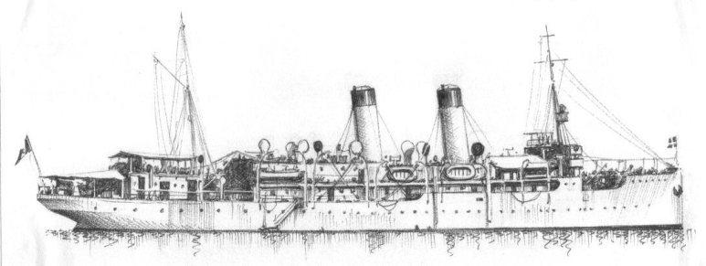 Nave Trasporto Città di Siracusa - 1915