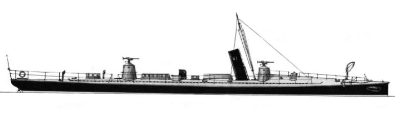 Torpediniere 102S - 1915