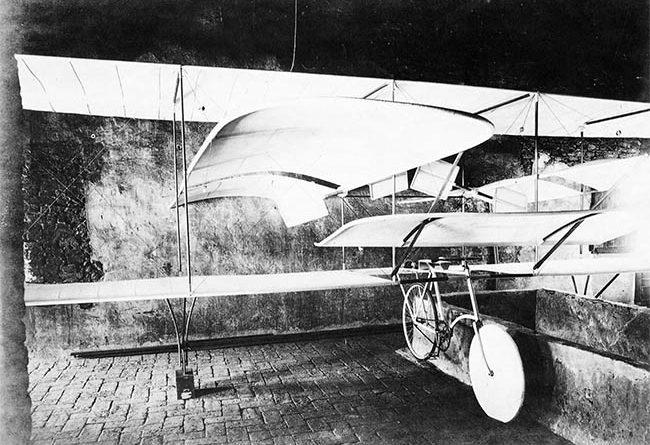 Corazza II - Aerocicloplano - 1906