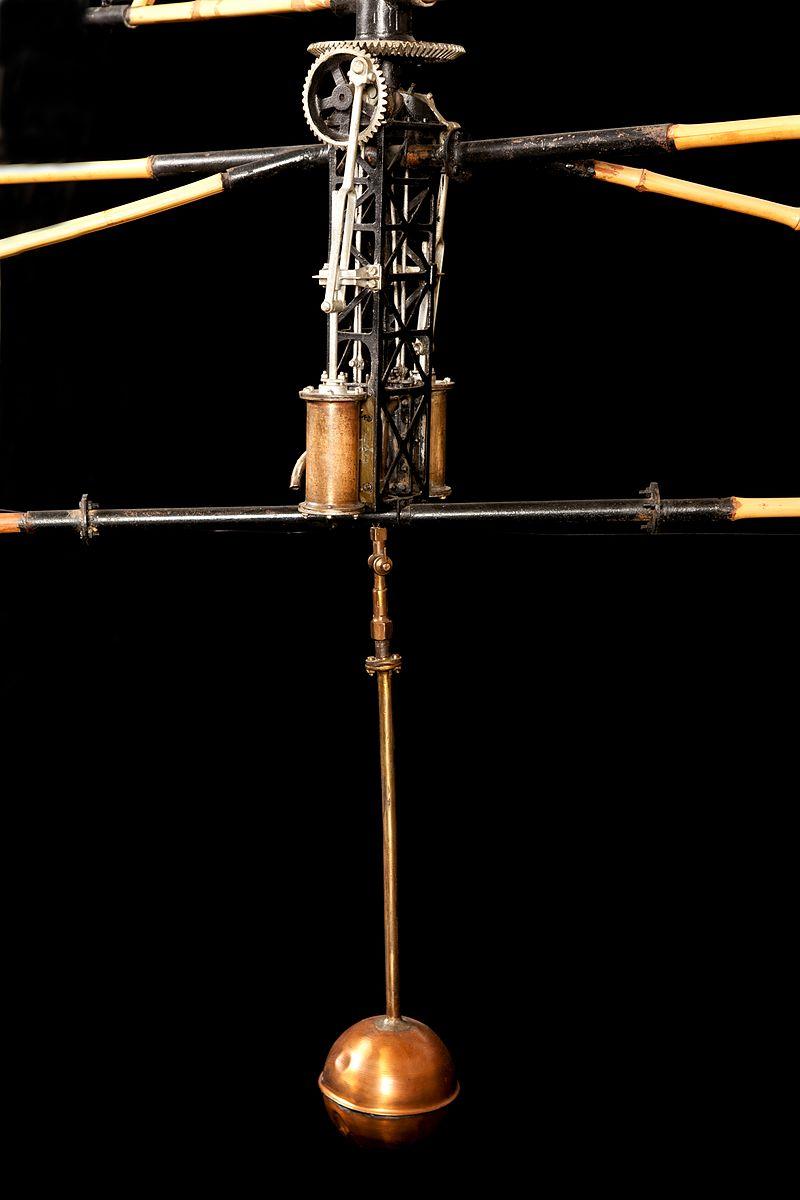 Motore a vapore dell'Elicottero di Enrico Forlanini - Museo della Scienza e Tecnologia - Milano