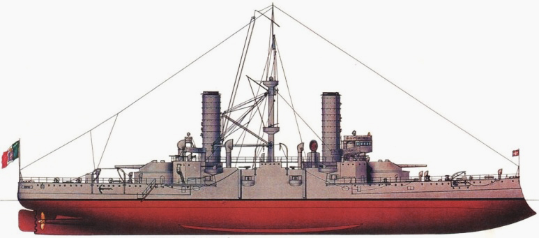Nave da Battaglia Ammiraglio di Saint Bon - 1915