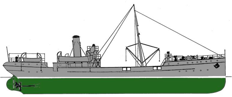 Nave Cisterna per Acqua Eridano - 1915
