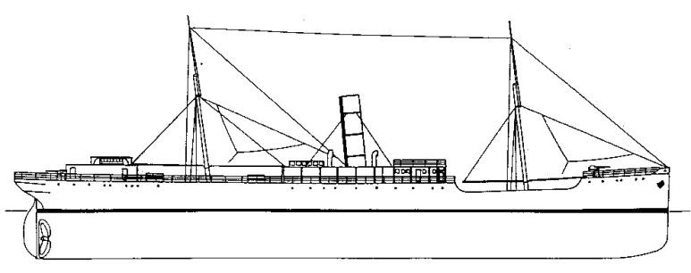 Nave Trasporto Eritrea - 1915
