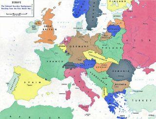 prima guerra mondiale Europa 1919