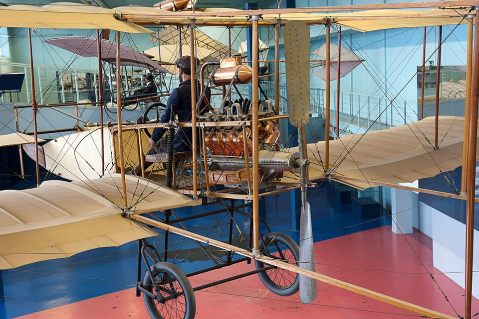 Farman I - 1907 - Musée de l'Air et de l'Espace