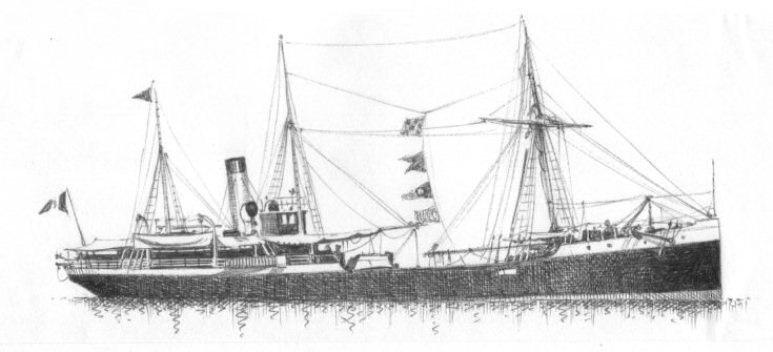 Nave Trasporto Garigliano - 1915