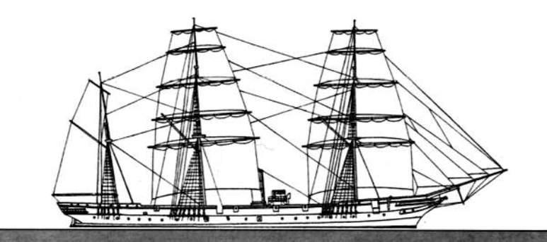 Nave Scuola Flavio Gioia - 1915