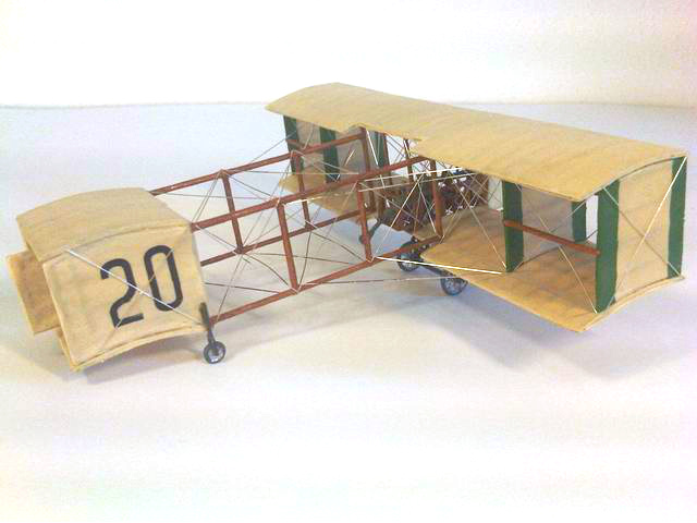Jürgen Wagenknecht - Voisin-Farman 1908 - Entex 1/72