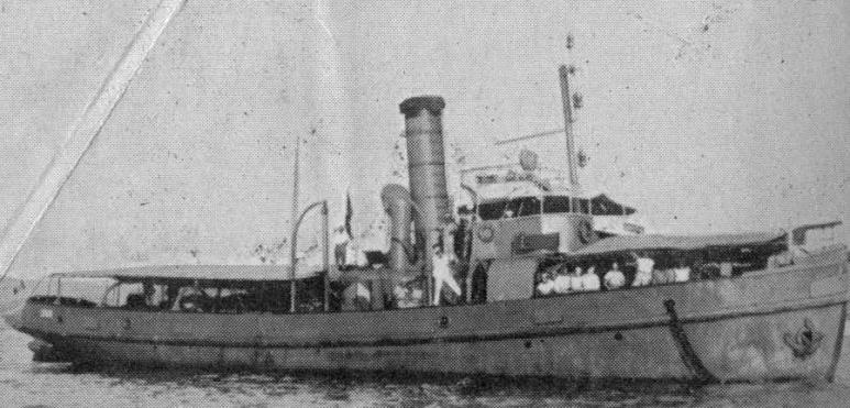 Rimorchiatore Costiero Lipari - 1915