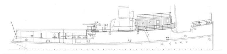 Rimorchiatore d'alto Mare Marittimo - 1915