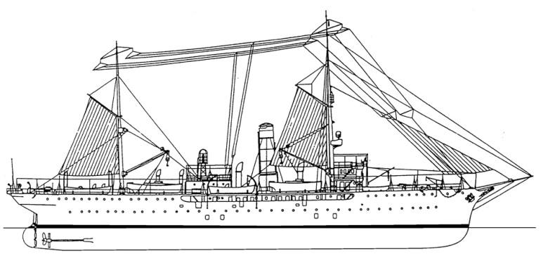 Nave Idrografica Ammiraglio Magnaghi - 1915