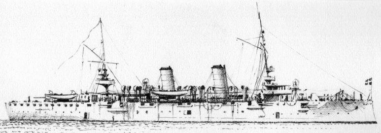 Incrociatore Corazzato Marco Polo - 1915