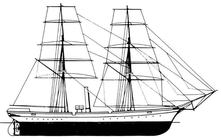 Nave Scuola Miseno - 1915