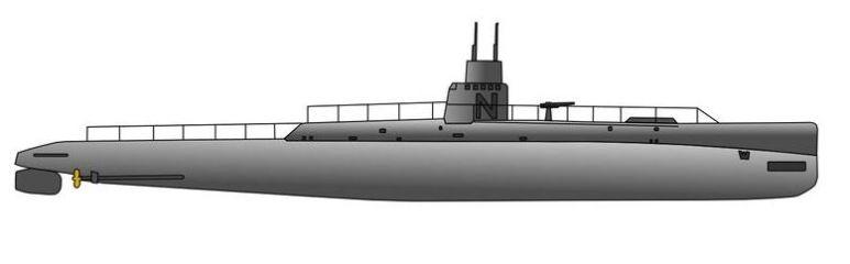 Sommergibile Nautilus - 1915