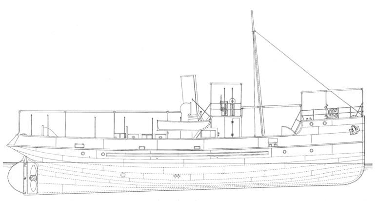 Rimorchiatore Costiero Procida - 1915