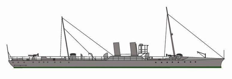 Torpediniere Orione - 1915